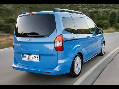 test ford tourneo courier youtube. Black Bedroom Furniture Sets. Home Design Ideas