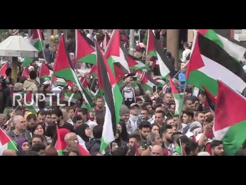 Lebanon: Hundreds descend on Beirut to protest Trump's Jerusalem decision