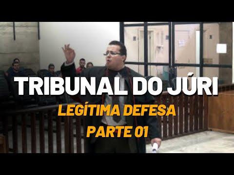 Tribunal do Júri - Legítima Defesa - Vídeo 01 de 02