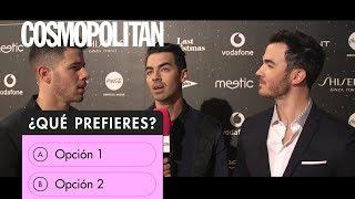 Aitana, Jonas Brothers y más famosos se someten al '¿Qué prefieres?' más 'hot | Cosmopolitan España