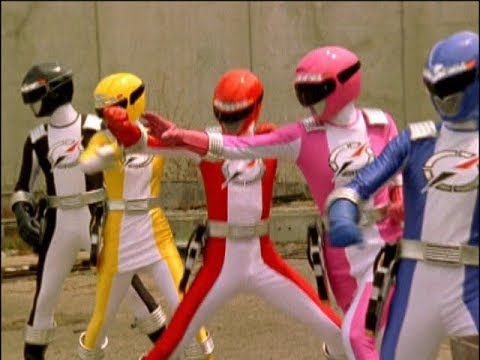 Power Rangers Operation Overdrive - At All Cost - Power Rangers vs Moltor Round 1 (Episode 7)
