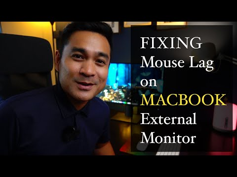 Fix Mouse Lag On Macbook On External Monitor