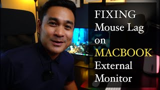 Fix Mouse Lag oฑ Macbook on External Monitor
