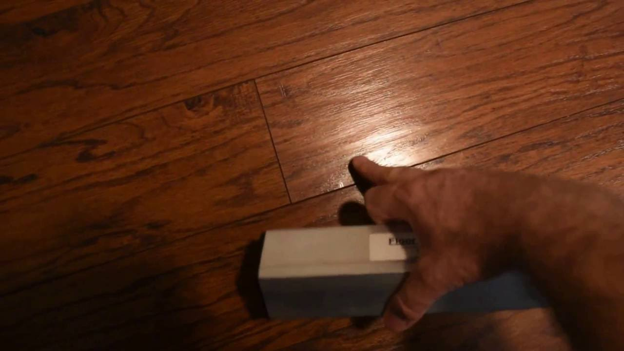 How To Fix Floating Floor Gaps Youtube