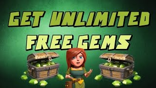 Clash Of Clans l How To Get Free Gems ! Way #1