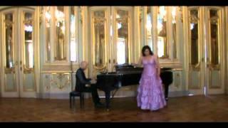 """Verdi Ulrica """"re dell'abisso affrettati""""(Un Ballo in Maschera) Olesya Nagieva (Prudnik)"""