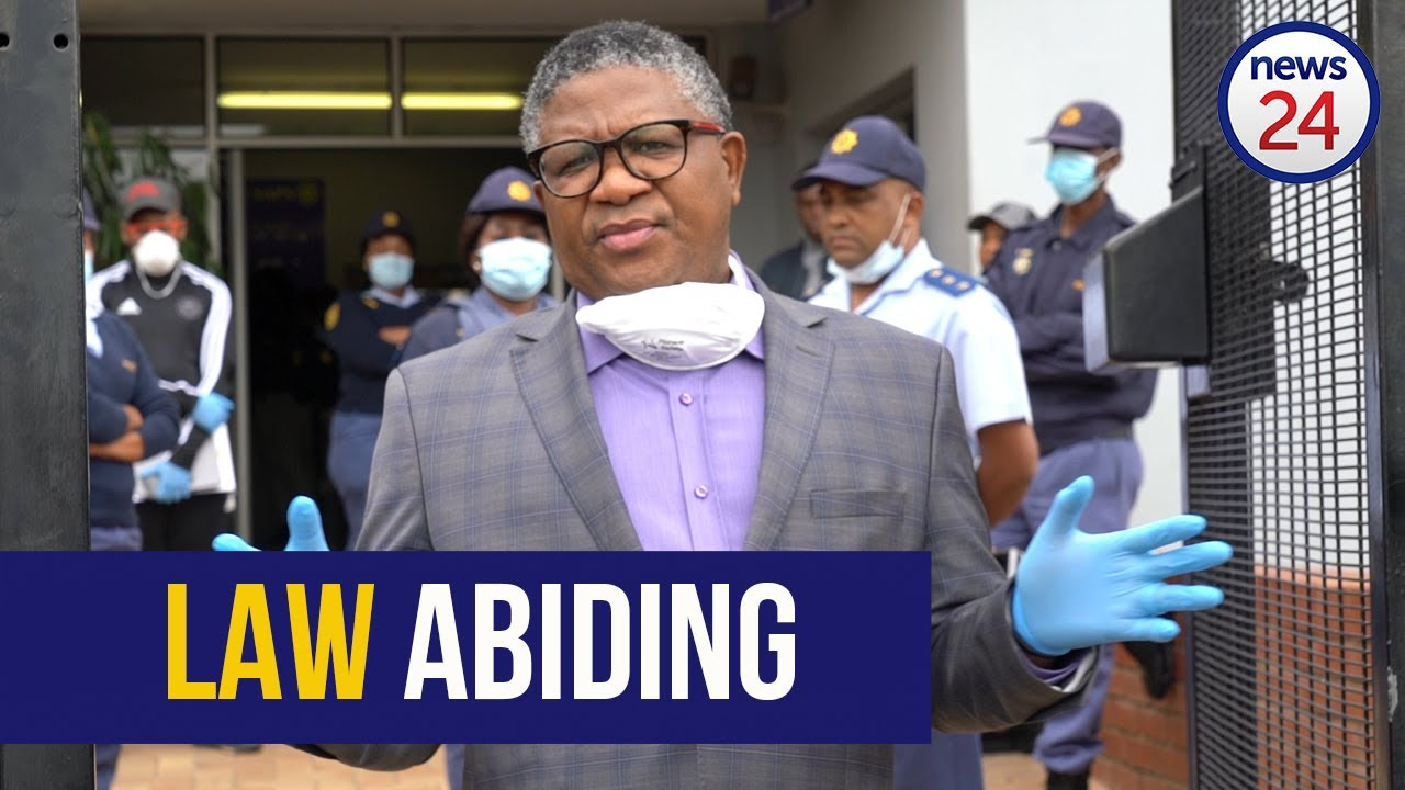 WATCH | Mbalula lays charge against Somizi for spreading fake news over lockdown extension - News24