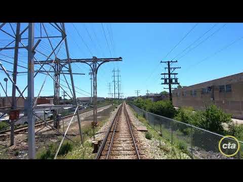 CTA's Ride the Rails: Yellow Line Time-lapse (2019) v1.1
