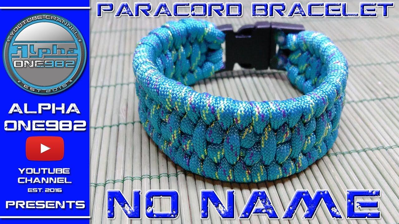 How To Make Paracord Bracelet No Name 2017 Trilobit