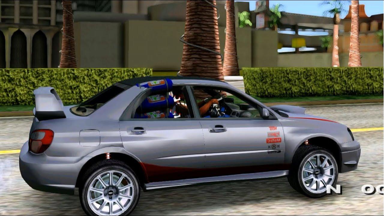 Born Race Danny Krueger Impreza Sti Wrx Beta Gta Mod