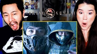 MORTAL KOMBAT | Trailer Reaction by Jaby Koay & Achara Kirk!