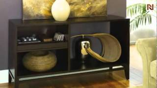 Quazar Sofa Table T3001989-00 by Hammary Furniture