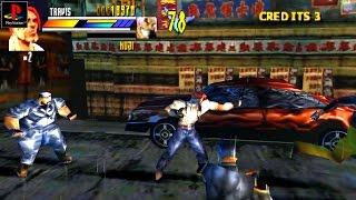 Gekido: Urban Fighters - Gameplay PSX / PS1 / PS One / HD 720P (Epsxe)