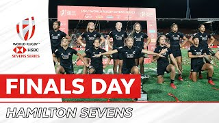 HIGHLIGHTS | Incredible action from women's finals day in Hamilton