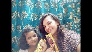 Cake challenge with my niece/funny video/Ashwini parimala