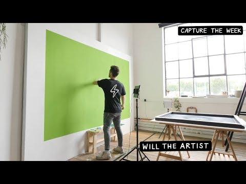 Making A Green Screen In My Art Studio! ⚡️ Will The Artist