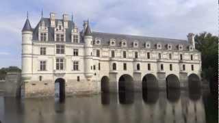France: Loire - Chenonseau. Франция: Долина Луары - Шенонсо(My video. 9'2012. Автобусный тур