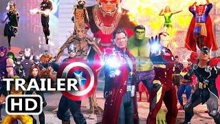 PS4 - Marvel Heroes Omega Trailer