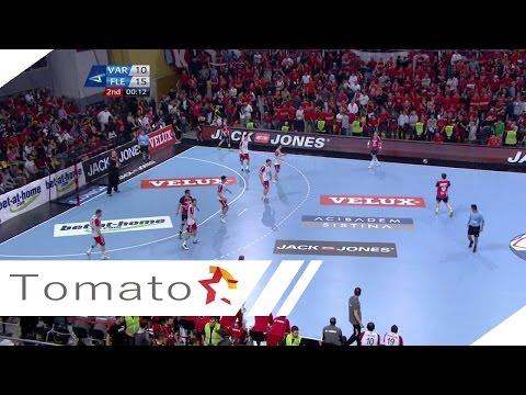EHF CHAMPIONS LEAGUE 2013/14 QUARTER FINAL VARDAR - FLENSBURG