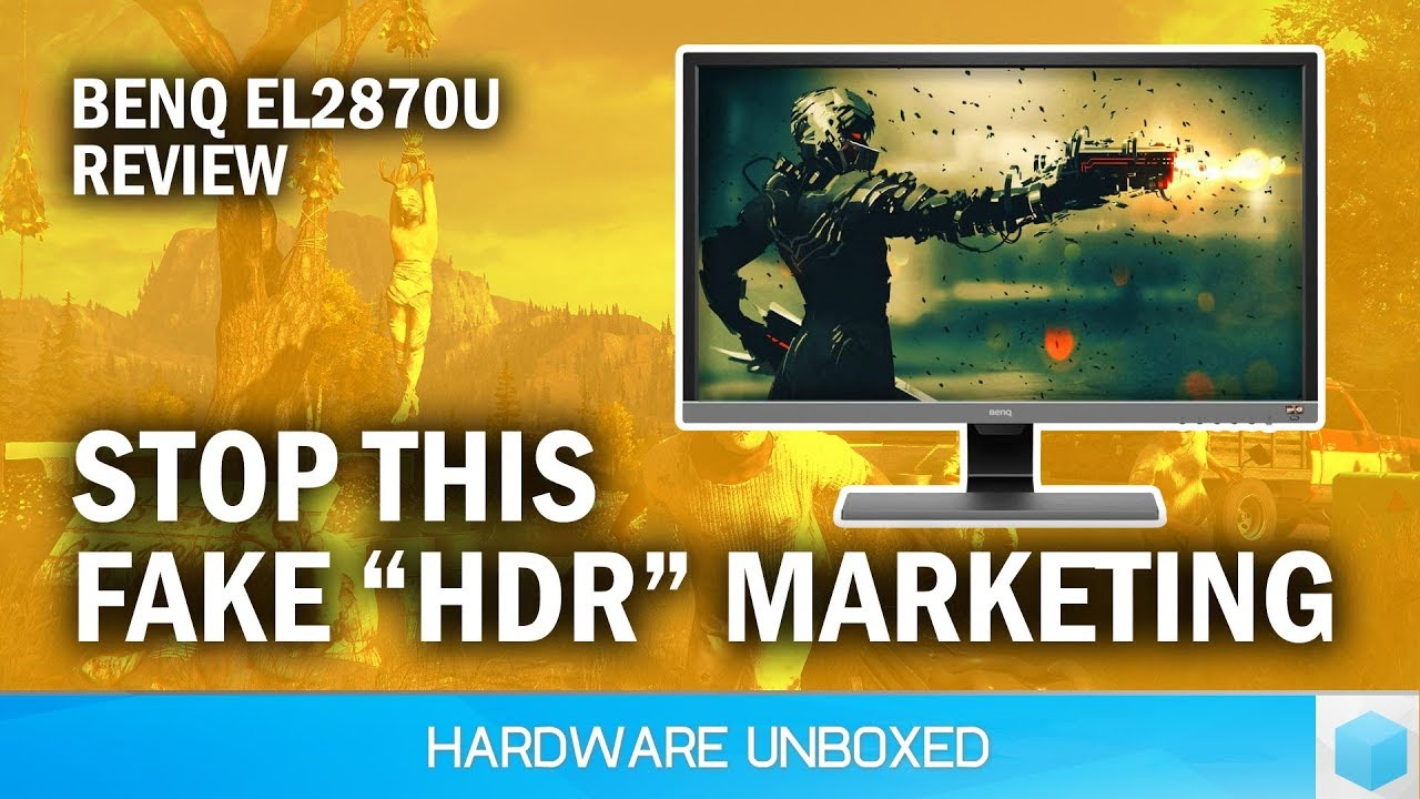 BenQ EL2870U Review: Affordable 4K