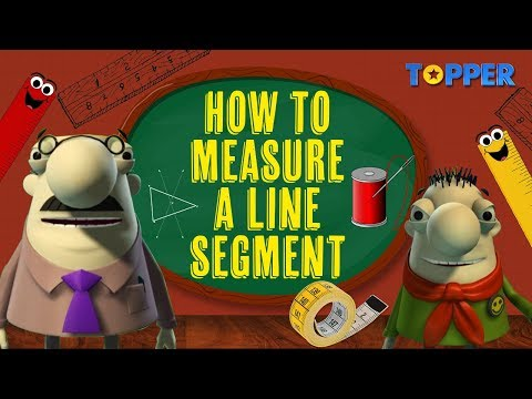 Measuring a Line Segment | Class 6th Maths |