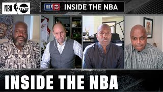 The Inside Guys Discuss Drew Brees' Comments | NBA on TNT