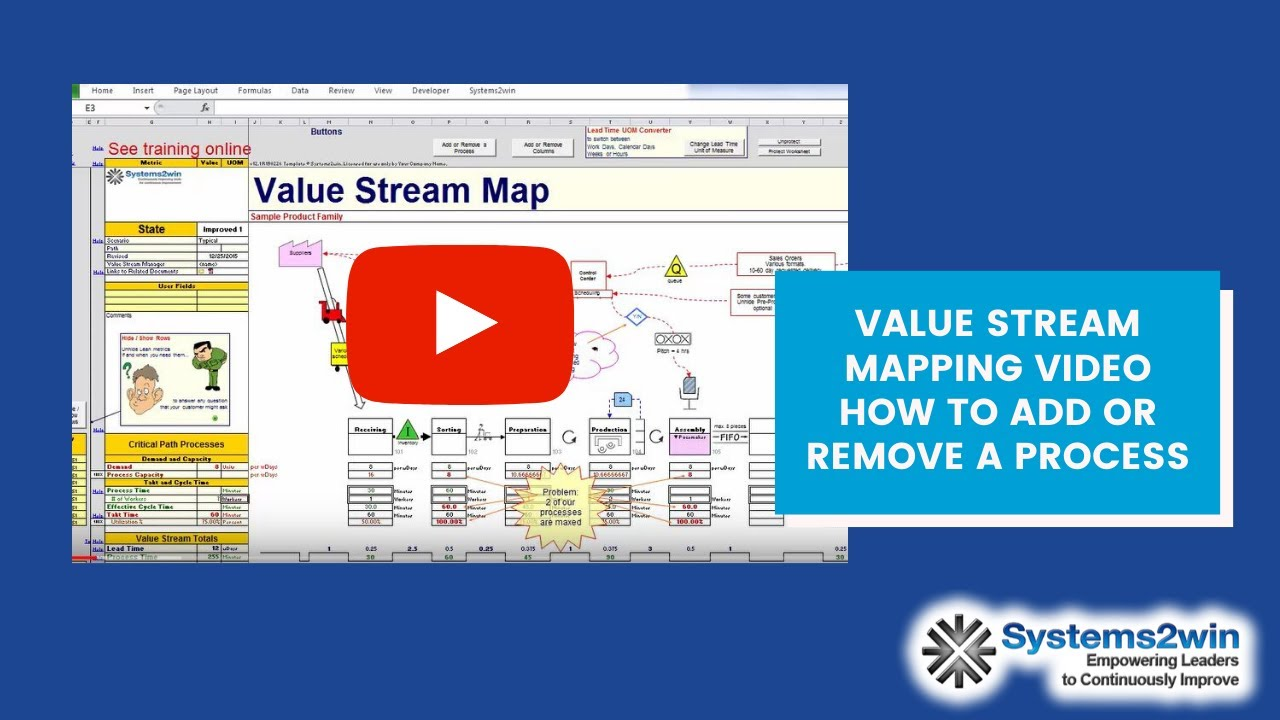 Add or remove a process value stream mapping youtube add or remove a process value stream mapping pronofoot35fo Choice Image