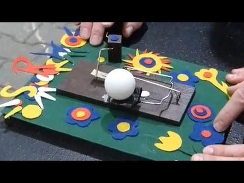 """Gedankenblitz-Wettbewerb: """"Tischtennisball-Kanonen"""""""
