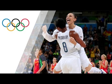 USA win women's Basketball gold again