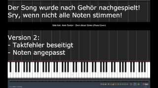VERSION 2 | Sido feat. Mark Forster - Einer dieser Steine | Piano Tutorial Cover