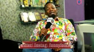 Koffi comedian up close and personal