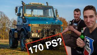 170 PS im UNIMOG U1200 | Talk mit Henning und Robs | 406 und 424 im Sonnenuntergang
