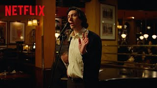 Adam Driver Sings Sondheim's 'Being Alive' In Marriage Story | Netflix