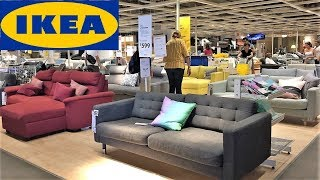 IKEA STORE WALK THROUGH SHOP WITH ME SHOPPING FURNITURE SOFAS BEDS HOME DECOR 4K