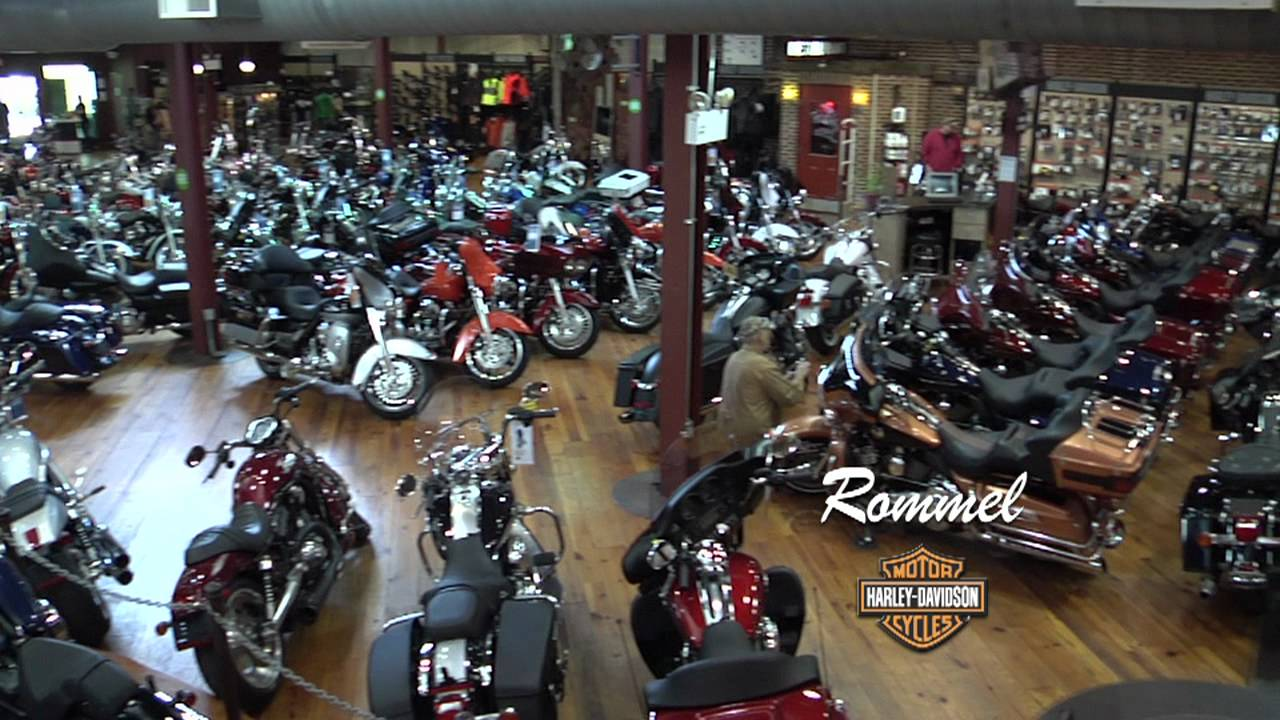 rommel harley-davidson smyrna & new castle, de - youtube