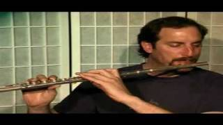 Flute Lesson - How to play Notation Library file # 390