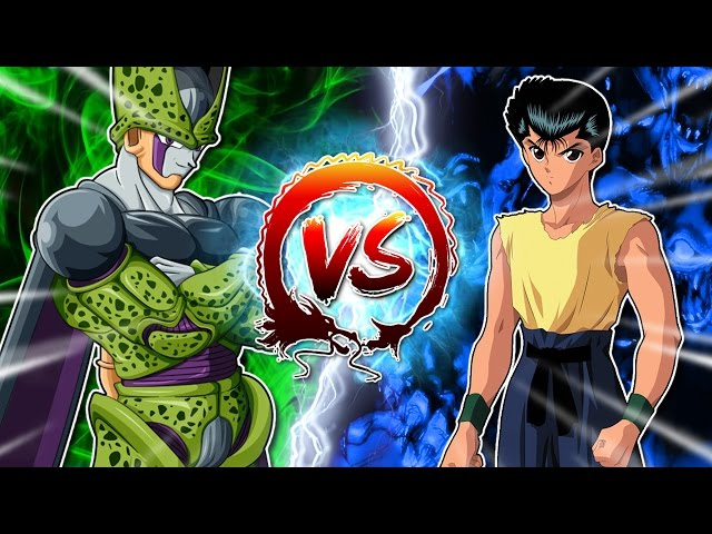Dragon Ball Z Abridged: Cell Vs Yusuke #CellGames | TeamFourStar