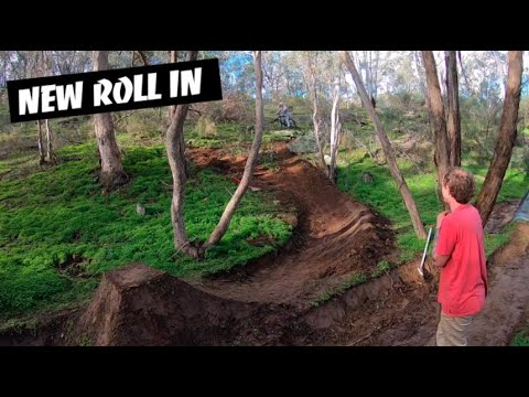 Download Building a Roll In at the Secret Trails