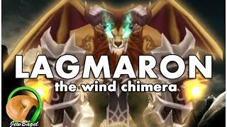 SUMMONERS WAR : Lagmaron the Wind Chimera - Gameplay Spotlight
