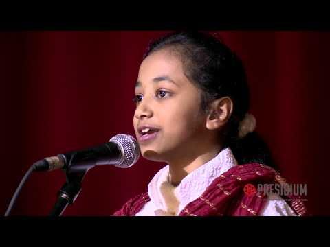 Yashvi, student of Presidium, presents a hilarious Hasya Kavita