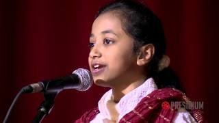 Yashvi, student of Presidium, presents a hilarious Hasya Kavita