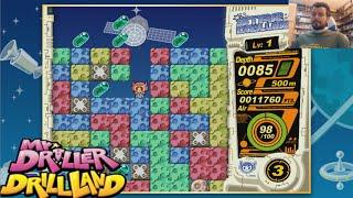 MR. DRILLER: Drill Land (Switch / GameCube) - Gameplay en Español
