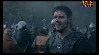 VİKİNGS  Savaş sahnesi HEAHMUND ölümü 6. (5)sezon 5.(15) bölüm