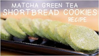 Matcha Green Tea Shortbread Cookie Recipe