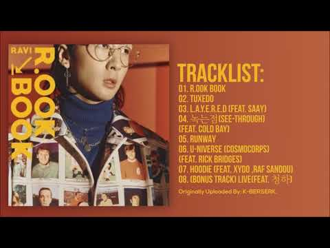 [Full Album] 라비(RAVI) - R.OOK BOOK (2nd Mini Album)