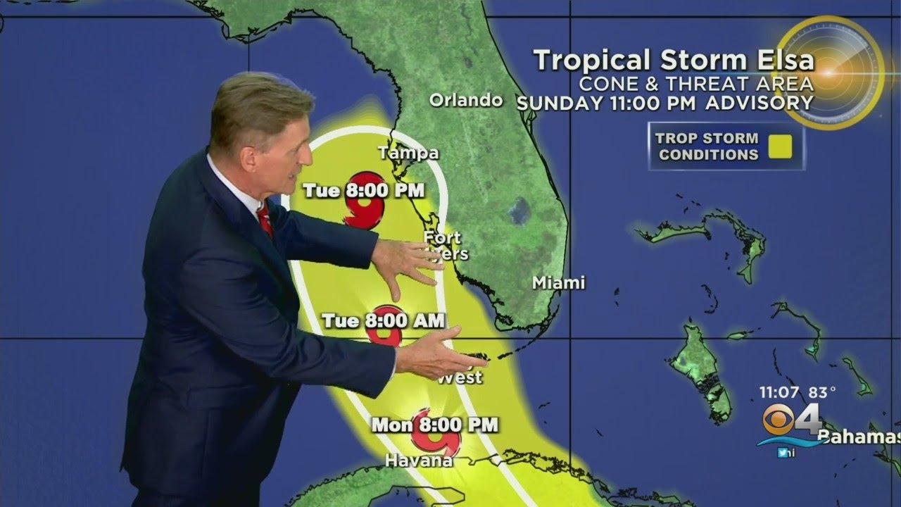 Tracking Elsa: Tropical Storm Elsa Grows A Bit Stronger; Part Of ...