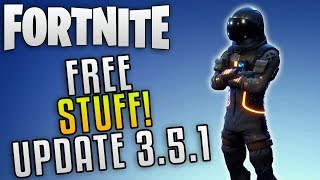 "Fortnite Update 3.5.1 Free Stuff ""Fortnite Battle Royale Free Back Bling"" Fortnite Free Gold"