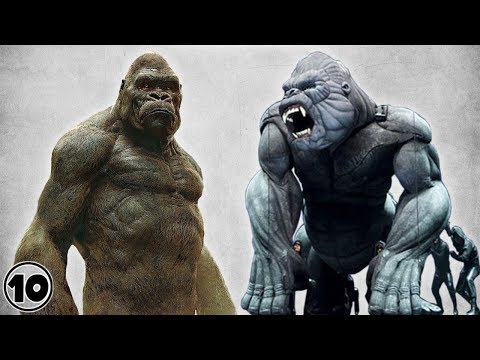 Top 10 Alternate Versions Of King Kong