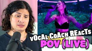 Download Vocal Coach Reacts to Ariana Grande - POV (Live)