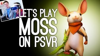 Moss PSVR Gameplay: Let's Play Moss - LOOK AT THE TINY MOUSE!!! EEE!